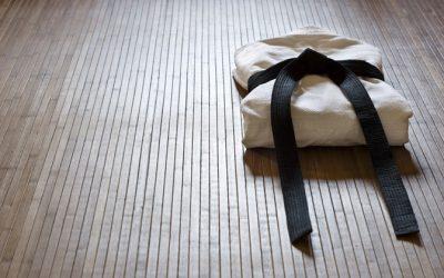Pierwsze treningi Aikido na os. Paderewskiego