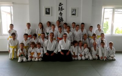 Egzaminy Yoshinkan Aikido dla dzieci (16.06.2018)